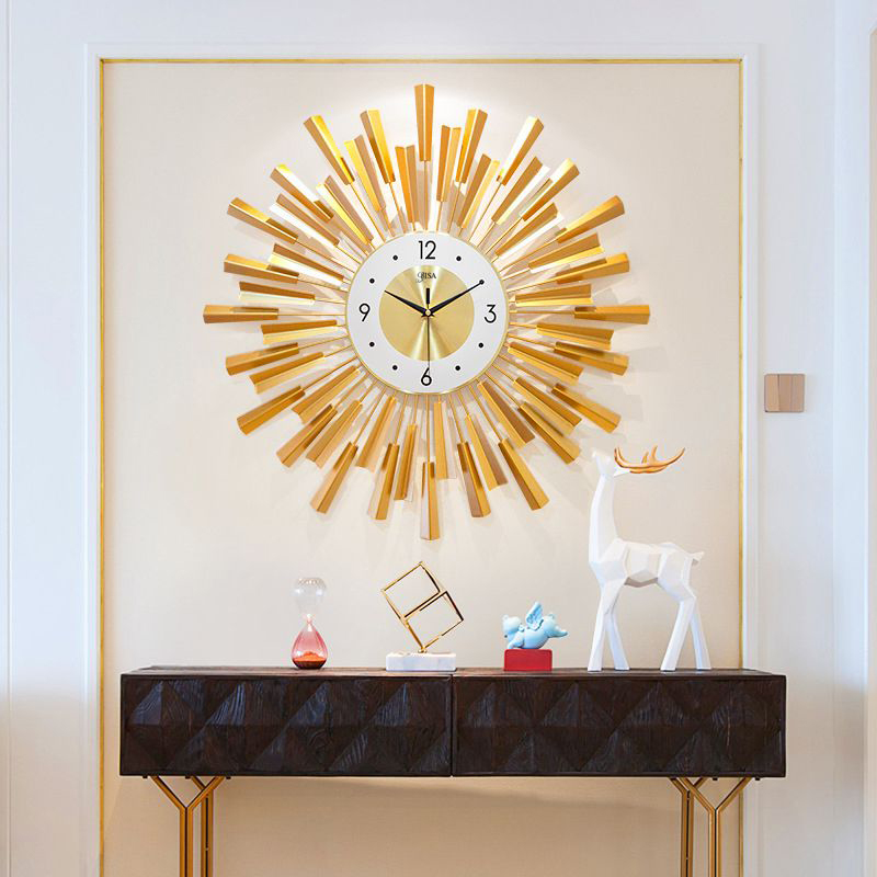 Đồng hồ treo tường thiết kế sang trọng hiện đại cho không gian thêm ấn tượng BS6650