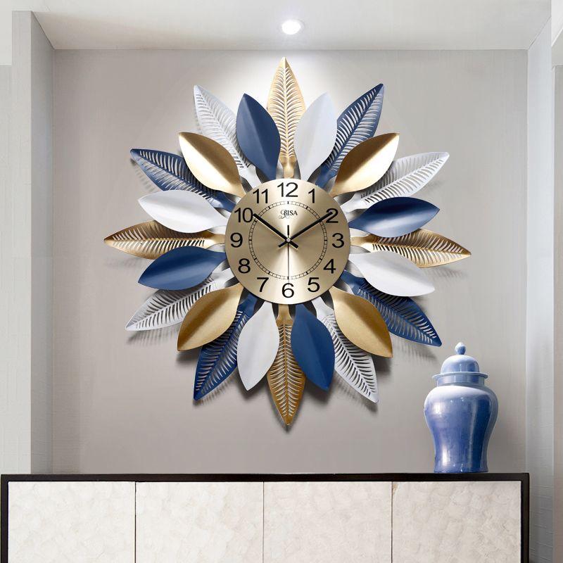 Đồng hồ treo tường thiết kế sang trọng hiện đại cho không gian thêm ấn tượng BS6699