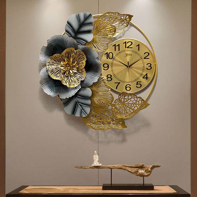 Đồng hồ decor trang trí 3D cho không gian thêm ấn tượng BS2010
