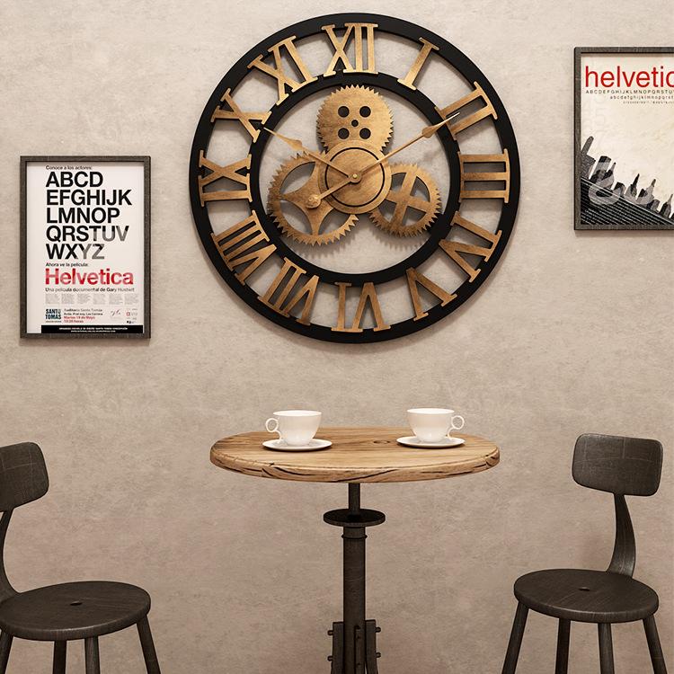 Đồng hồ treo tường hiện đại thiết kế độc đáo đầy ấn tượng BS5868A-80YL