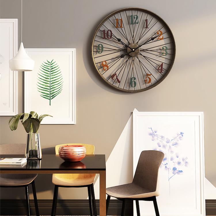Đồng hồ treo tường hiện đại thiết kế độc đáo đầy ấn tượng BS5668