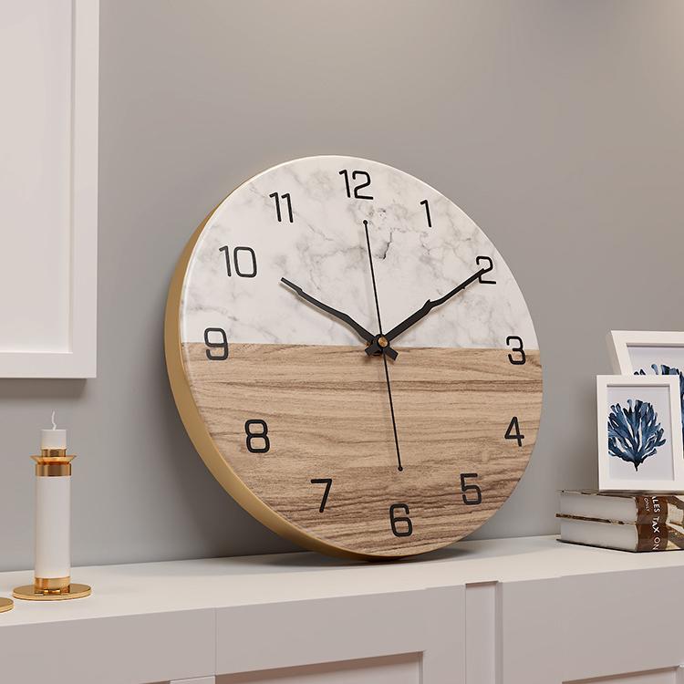 Đồng hồ treo tường hiện đại thiết kế độc đáo đầy ấn tượng BS6688B