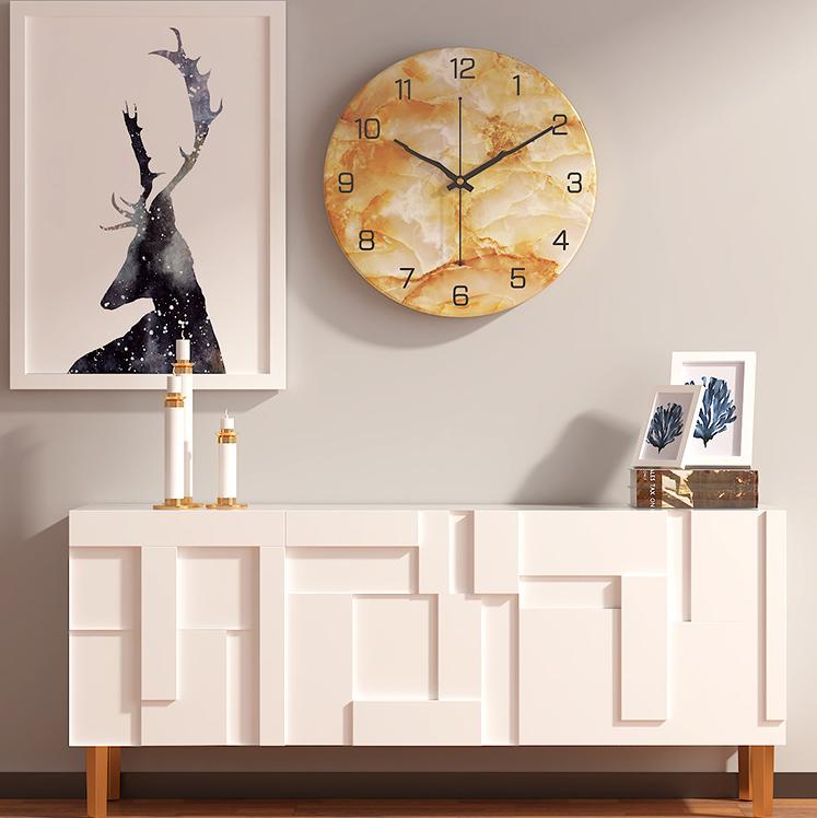 Đồng hồ treo tường hiện đại thiết kế độc đáo đầy ấn tượng BS6688D