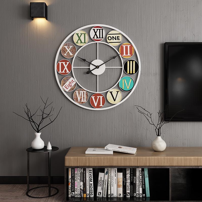 Đồng hồ treo tường nghệ thuật cách điệu BS6888WH