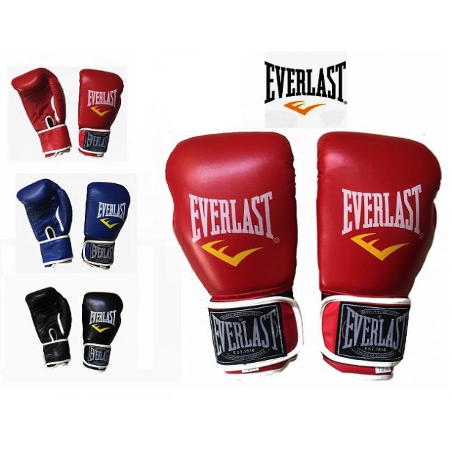 Găng Tay Đấm Boxing - Màu Đỏ - EverLast