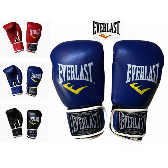 Găng Tay Đấm Boxing - Màu Xanh - EverLast