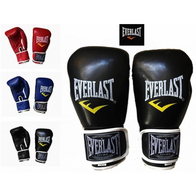 Găng Tay Đấm Boxing - Màu Đen - EverLast