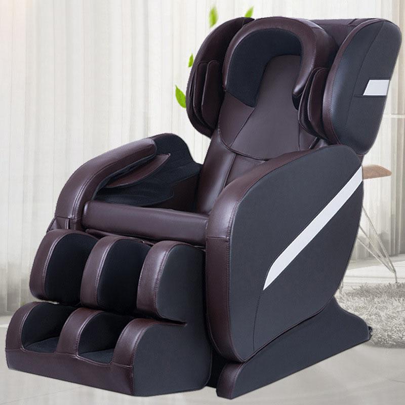 Ghế massage tự động cho toàn thân hoàn toàn thư giãn và sảng khoái 2015A màu đen