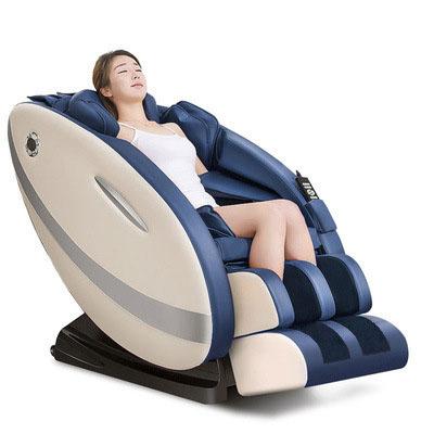 Ghế massage tự động cho toàn thân hoàn toàn thư giãn và sảng khoái 8002 màu xanh