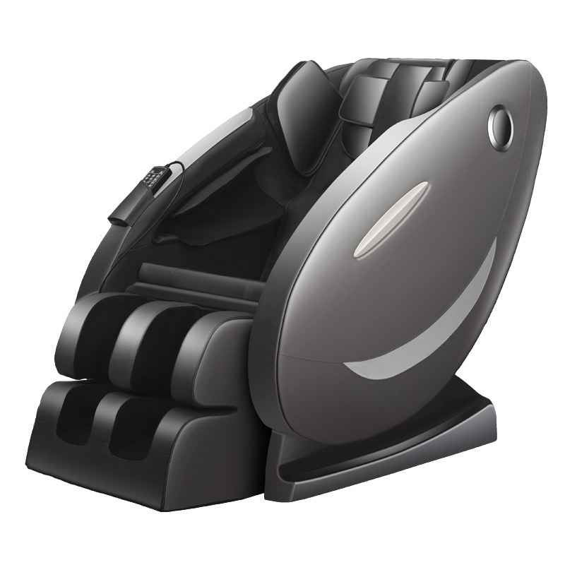 Ghế massage tự động cho toàn thân hoàn toàn thư giãn và sảng khoái 8003 màu đen