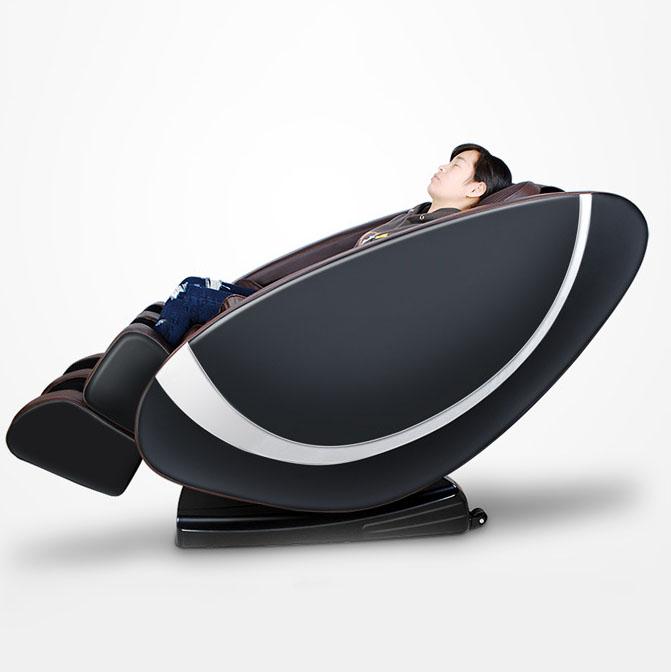 Ghế massage tự động cho toàn thân hoàn toàn thư giãn và sảng khoái 8001 màu đen