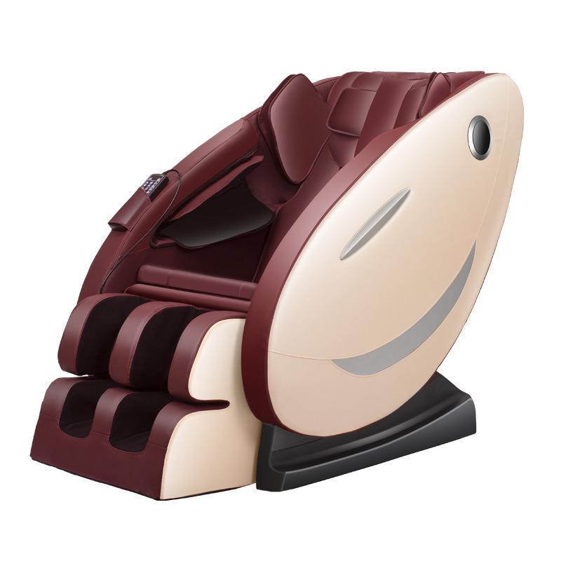 Ghế massage tự động cho toàn thân hoàn toàn thư giãn và sảng khoái 8003 màu ruby