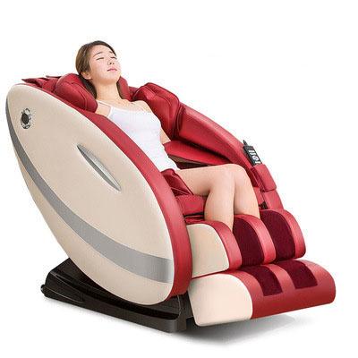 Ghế massage tự động cho toàn thân hoàn toàn thư giãn và sảng khoái 8002 màu đỏ
