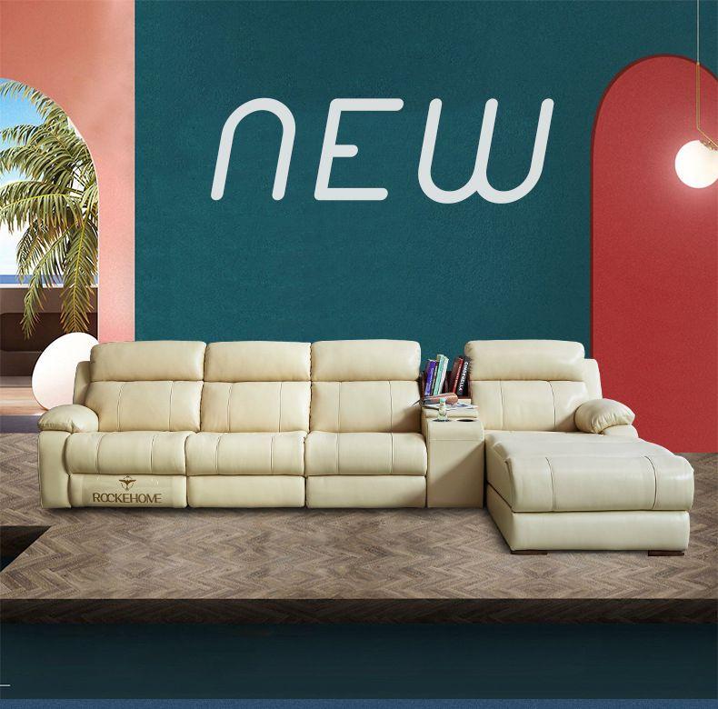 Ghế sofa massage đa chức năng hiện đại R835 size 357cm