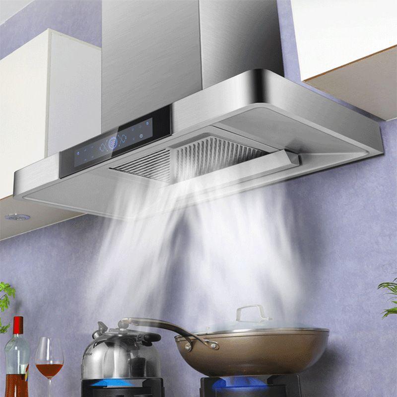 Máy hút mùi bếp kiểu dáng hiện đại nâng cấp khối hút lớn 35m2