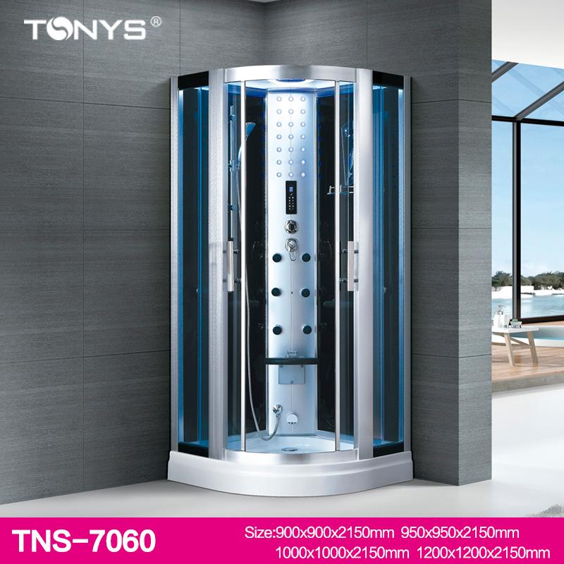 Phòng tắm kính xông hơi massage đa chức năng TNS-7060A size  1200 × 1200 × 2150mm