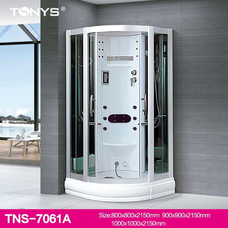 Phòng tắm kính xông hơi massage đa chức năng TNS-7061A size  1000 * 1000 * 2150mm