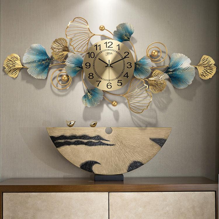 Đồng hồ treo tường trang trí 3D cho không gian hiện đại thêm ấn tượng BS910