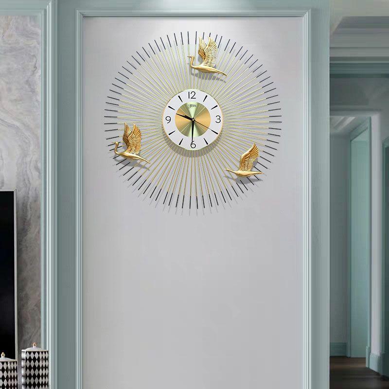 Đồng hồ treo tường cho không gian hiện đại thêm ấn tượng BS7701