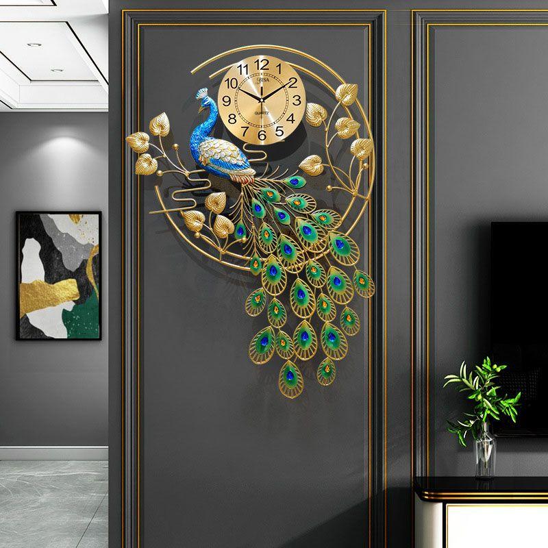 Đồng hồ treo tường công mang đến phú quý may mắn cho gia chủ BS1023