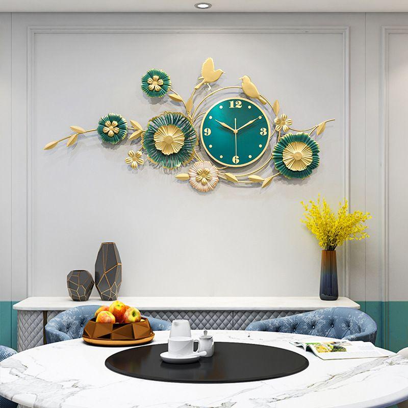 Đồng hồ treo tường trang trí decor ấn tượng mã 2907