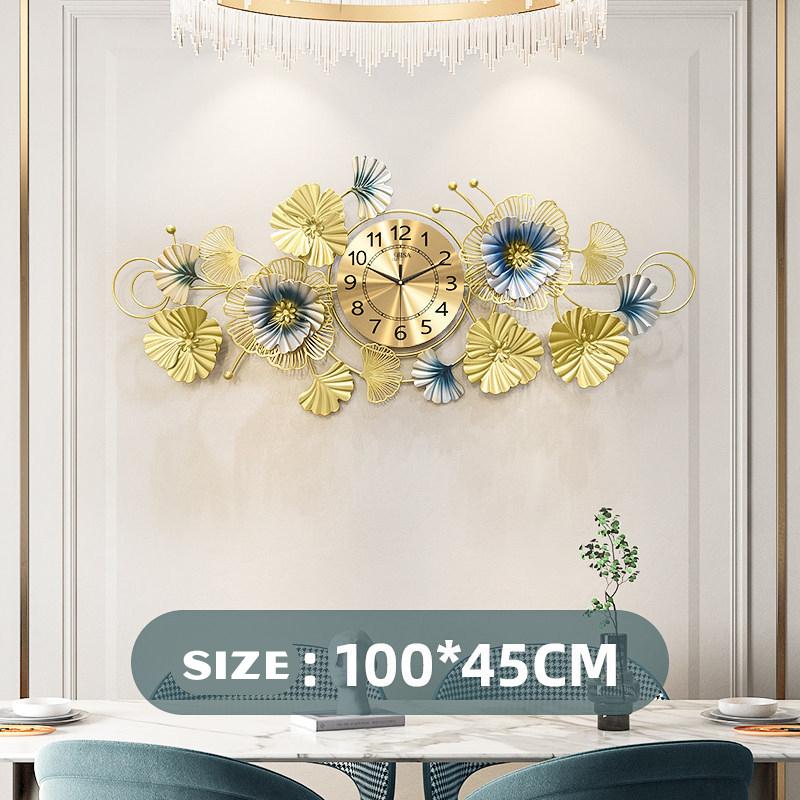 Đồng hồ treo tường trang trí 3D cho không gian hiện đại thêm ấn tượng 2911-100