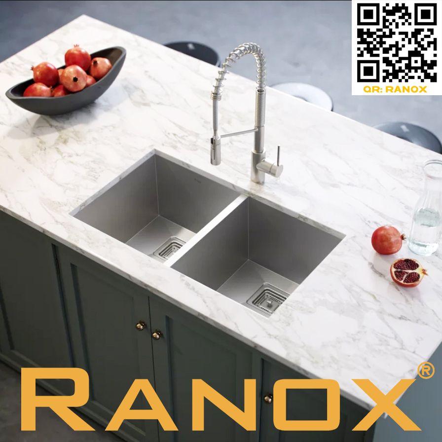 Chậu rửa chén RANOX âm bàn đá - Undermount sink RN4411