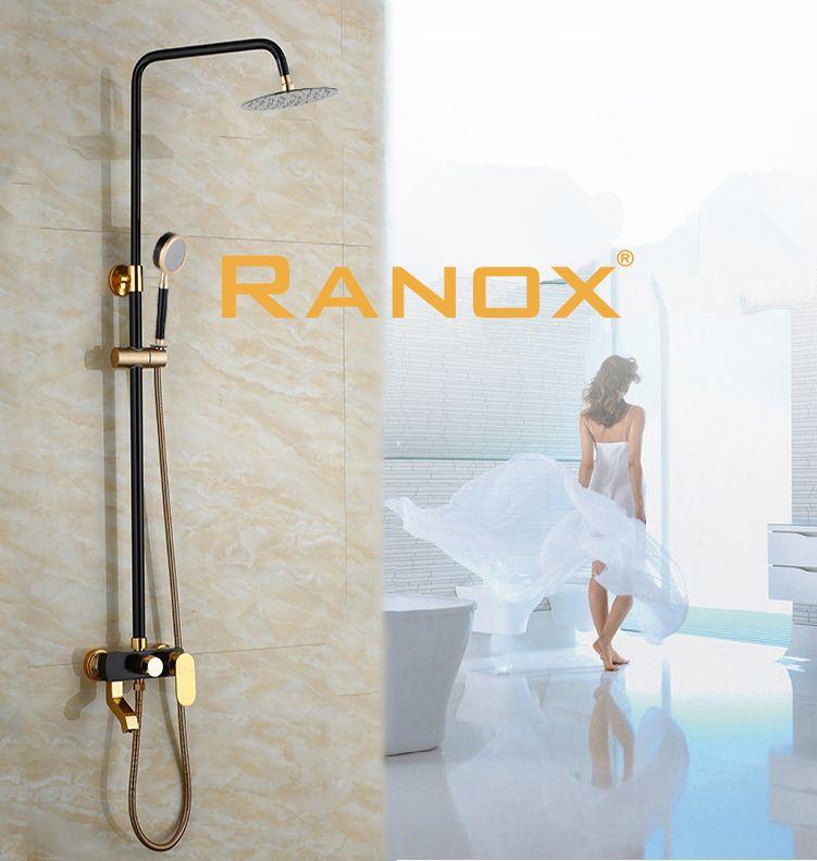 Sen cây tắm đồng đứng RANOX nóng lạnh RN706