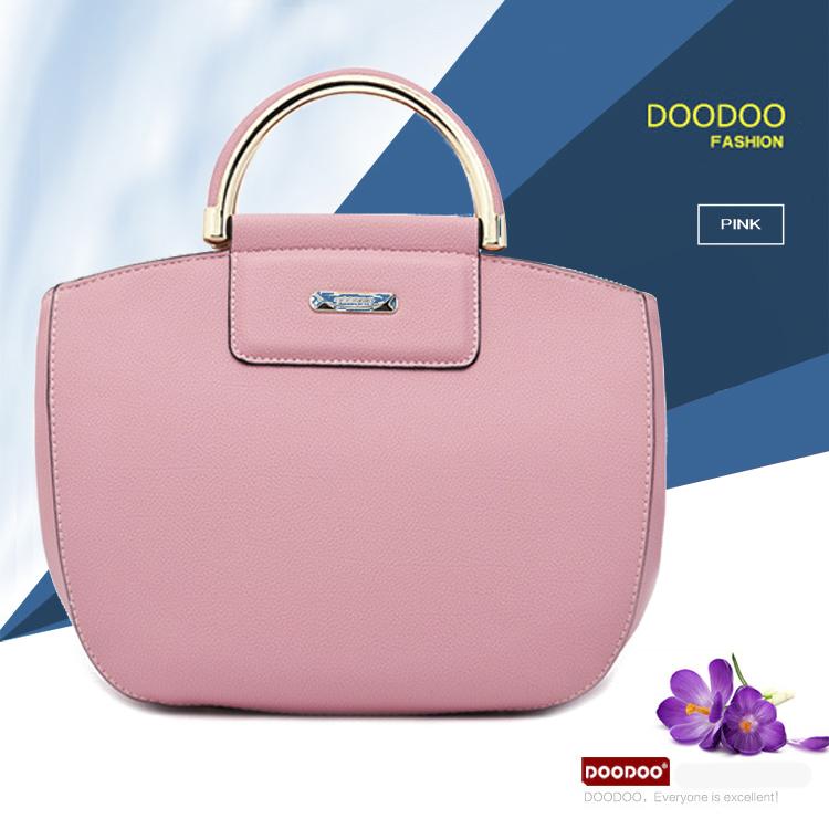 Túi xách nữ hàng DOODOO phong cách trẻ trung cá tính D6053