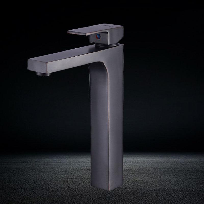 Vòi chậu rửa mặt nóng lạnh thiết kế hiện đại ấn tượng YF-5201