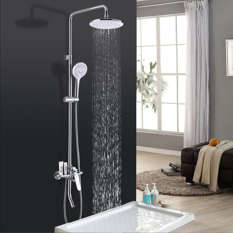Vòi sen tắm đa chức năng thông minh cho phòng tắm hiện đại YF5301 màu trắng