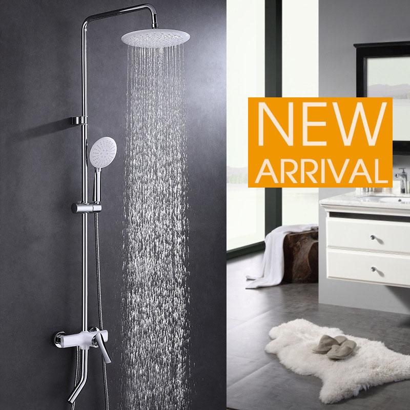 Vòi sen tắm đa chức năng thông minh cho phòng tắm hiện đại YF5302 màu trắng