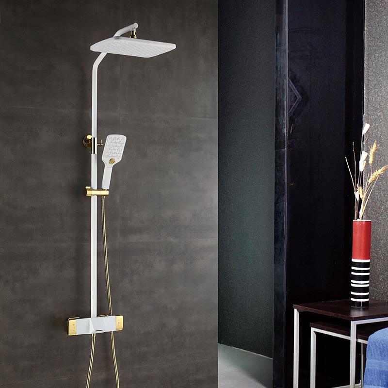 Vòi sen tắm đa chức năng thông minh cho phòng tắm hiện đại YF5303 màu trắng
