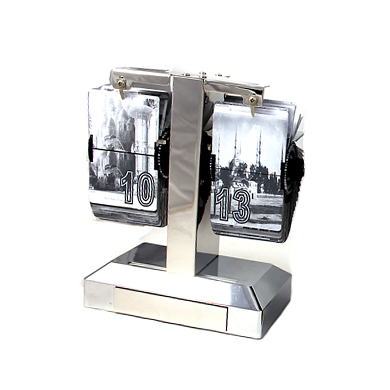 Đồng Hồ để bàn lật giờ tự động thiết kế độc đáo HY-F012