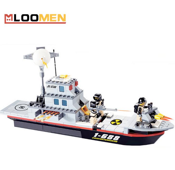 Đồ chơi Lego trí tuệ tàu thủy chiến JJ002983