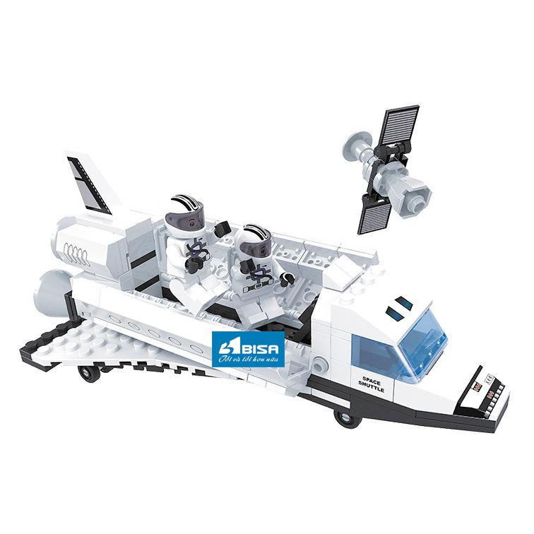Đồ chơi LEGO mô hình du hành vũ trụ cho trẻ nuôi dưỡng ước mơ khám phá vũ trụ  JJ003042
