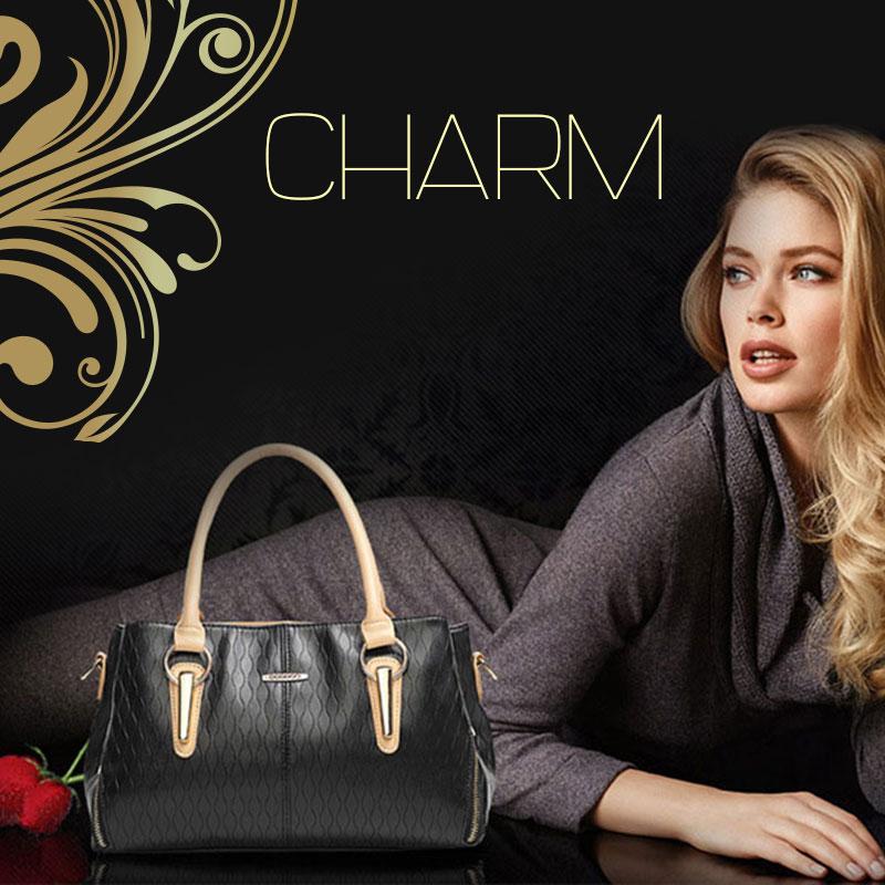 Túi xách nữ da mềm mang đến phong cách thời trang quyến rũ đầy ấn tượng D4009