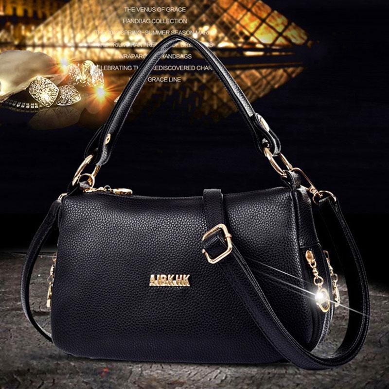 Túi xách da nữ thời trang AIBKHK phong cách trẻ trung hiện đại M538