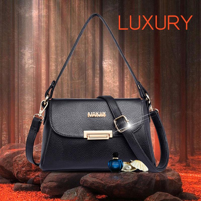 Túi xách nữ da thật M555 mang đến phong cách sang trọng đầy tinh tế và cuốn hút cho phái đẹp