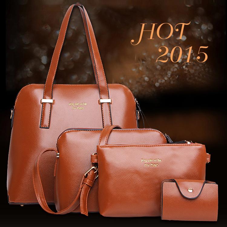 Bộ túi xách thời trang Châu Âu sành điệu cực kì quý phái W-010