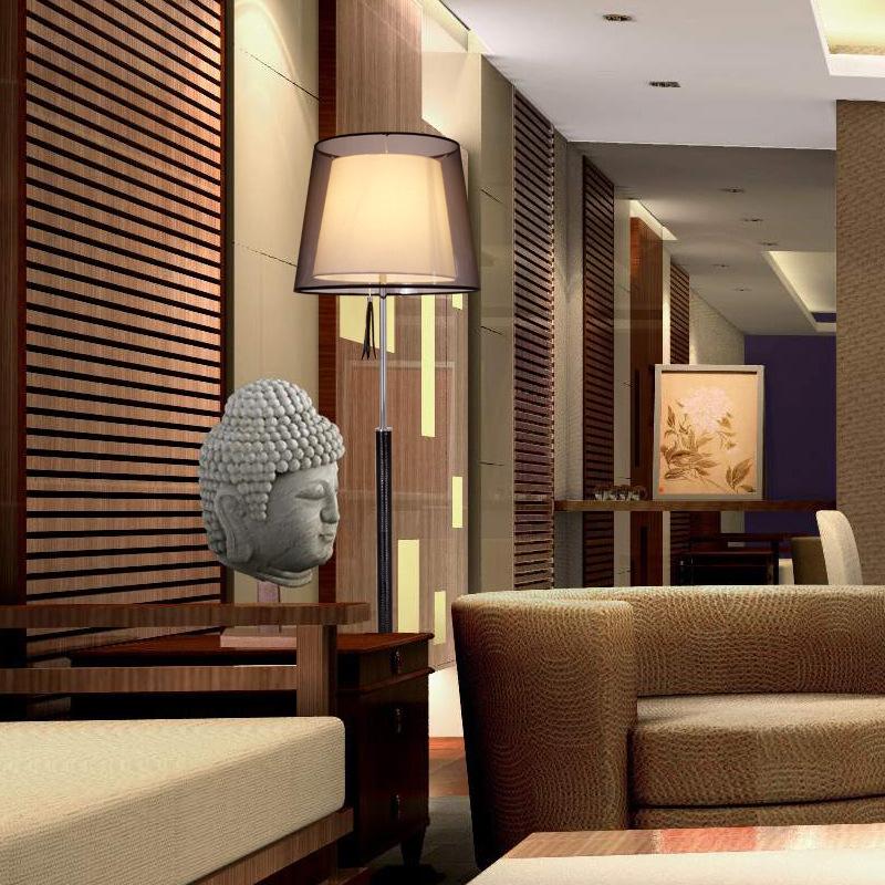 Đèn trang trí phong cách cổ điển kết hợp hiện đại tạo nên vẻ đẹp ấn tượng cho căn phòng F1401
