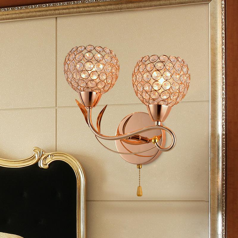 Đèn ốp tường pha lê phong cách hiện đại FRHA-B92A