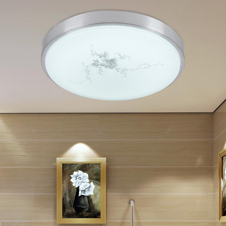 Đèn LED ốp trần thiết kế hoa văn in chìm trang nhã tuyệt vời FRHC-117