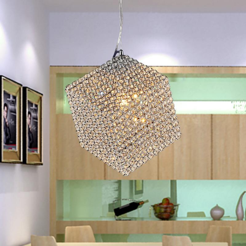Đèn thả trần phòng ăn pha lê nổi bật nét đẹp độc đáo FRHC-13A
