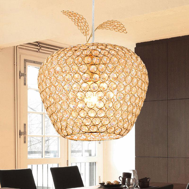Đèn thả trần pha lê thiết kế hình quả táo ấn tượng FRHC-27