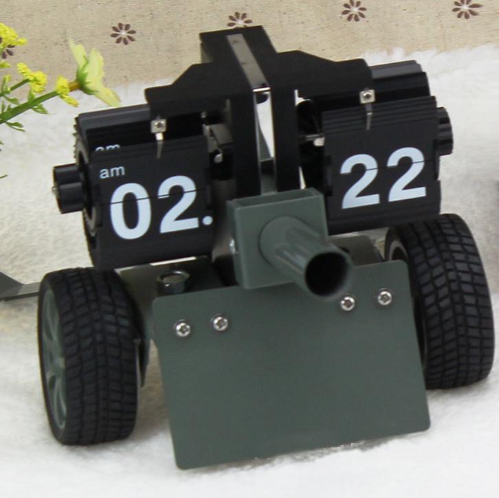 Đồng hồ trang trí mô hình xe tăng dạng lật HY-F062