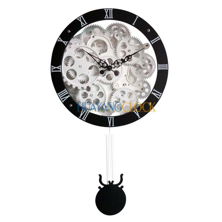 Đồng hồ treo tường phá cách với thiết kế hiện đại hóa ấn tượng HY-G048-B