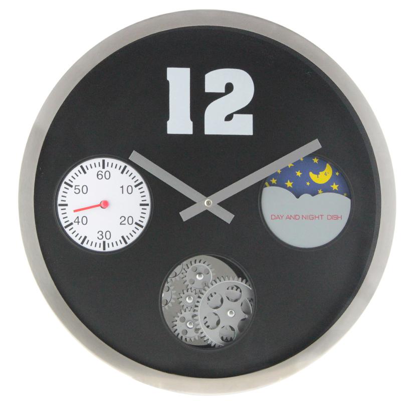 Đồng hồ treo tường thiết kế hiện đại ấn tượng HY-G054