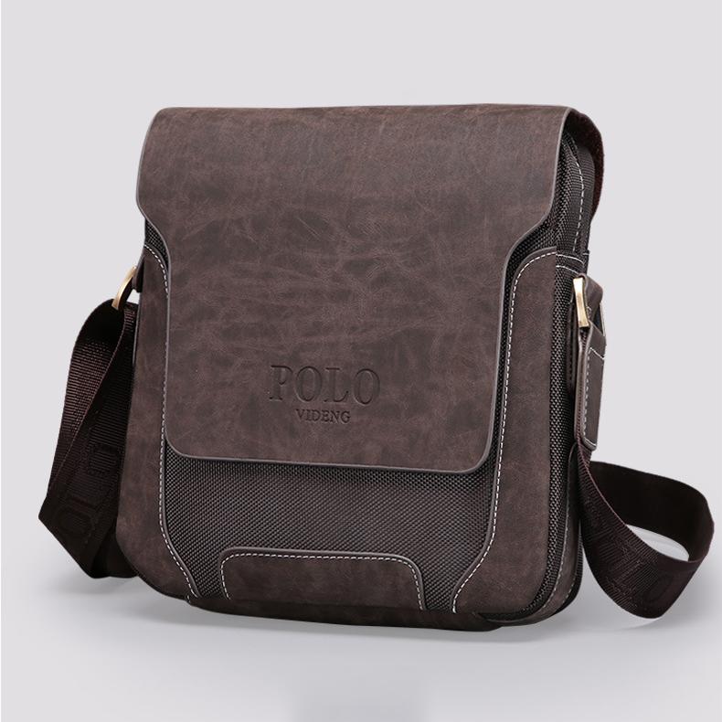 Túi xách nam hiệu Polo sành điệu giúp phái mạnh thêm lịch lãm
