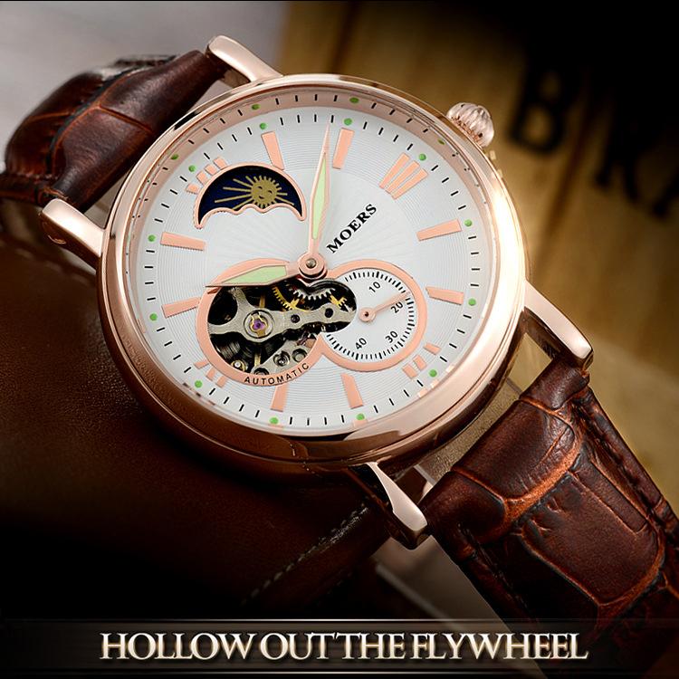 Đồng hồ đeo tay MOERS cao cấp - hiện đại thể hiện đẳng cấp LK8863